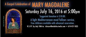 10th Mary Magdalene Celebration